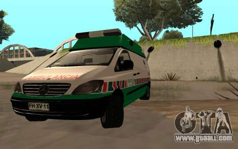 Mercedes-Benz Vito Ambulancia ACHS 2012 for GTA San Andreas