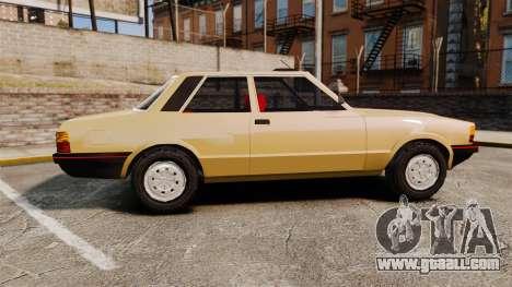 Ford Taunus GLS v2.0 for GTA 4 left view