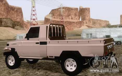 Toyota Fj70 2007 Pick Up for GTA San Andreas left view