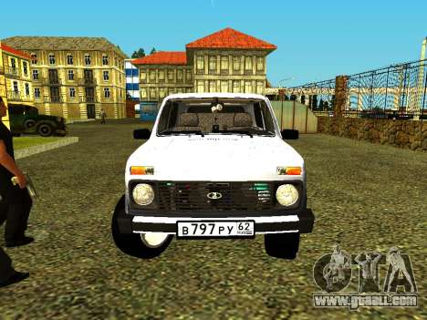 VAZ 21214 for GTA San Andreas right view