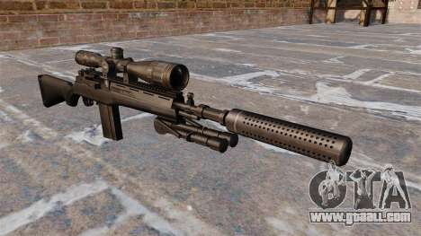 The M14 semi-automatic rifle for GTA 4