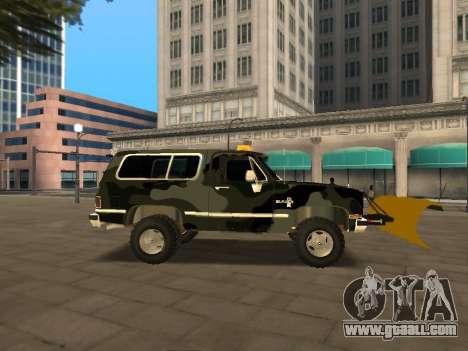 Chevrolet Blazer for GTA San Andreas right view