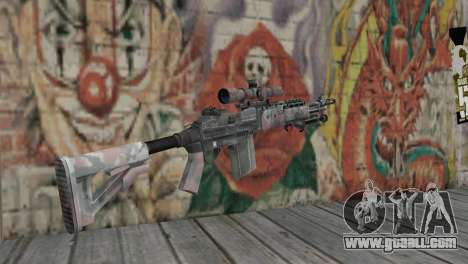 M14 EBR for GTA San Andreas second screenshot