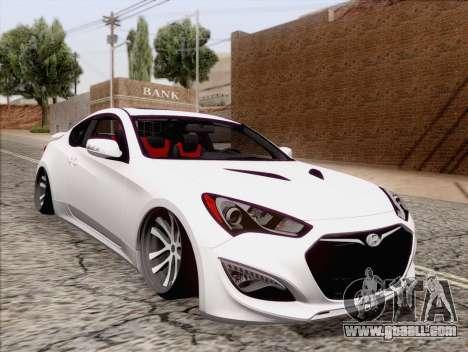 Hyundai Genesis Stance for GTA San Andreas