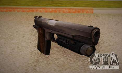 The gun from Left 4 Dead 2 for GTA San Andreas