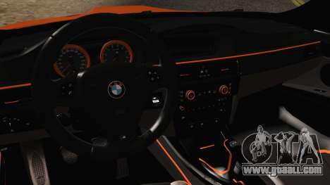 BMW M3 E92 2008 Vossen for GTA San Andreas inner view