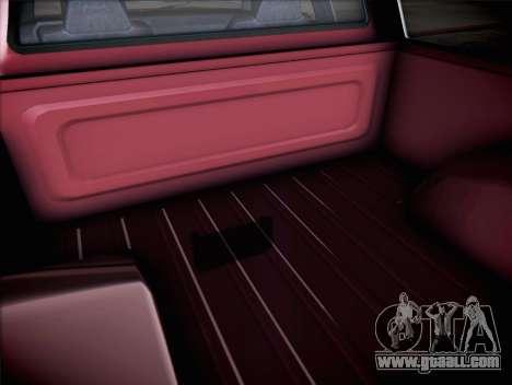Vapid Bobcat XL from GTA V for GTA San Andreas back view