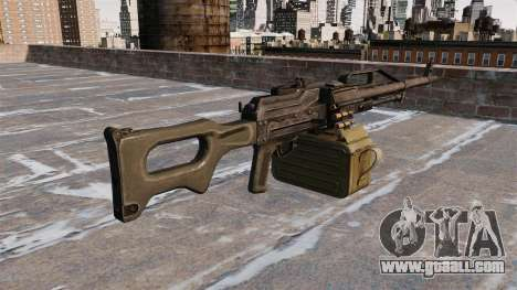 General-purpose machine gun 6P41 for GTA 4 second screenshot