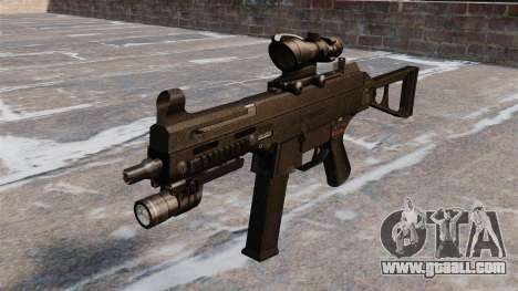 UMP45 submachine gun for GTA 4