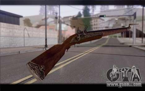Musket for GTA San Andreas second screenshot