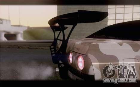 Nissan Skyline GTS Drift Spec for GTA San Andreas back view