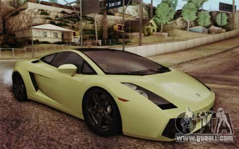 Lamborghini Gallardo SE for GTA San Andreas