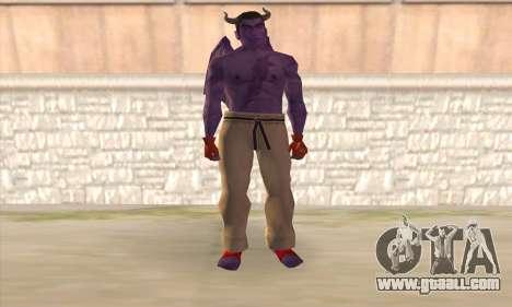 Devil Kazuya Mishima for GTA San Andreas
