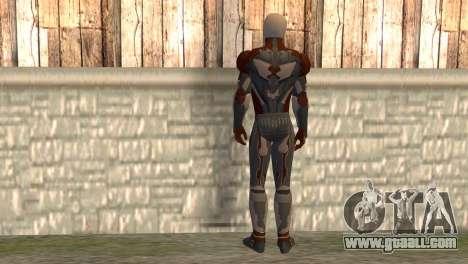 Gray Fox for GTA San Andreas second screenshot