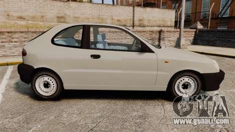 Daewoo Lanos S PL 1997 for GTA 4 left view