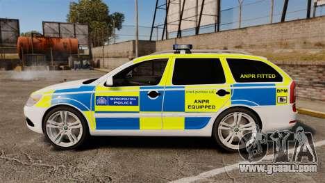 Skoda Octavia Scout RS Metropolitan Police [ELS] for GTA 4 left view