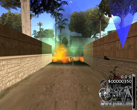 C-HUD by 6a6yuH for GTA San Andreas third screenshot