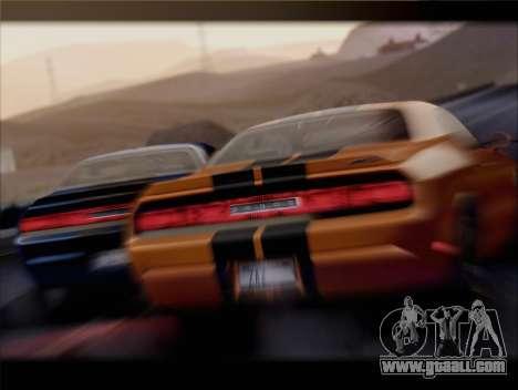 Dodge Challenger SRT8 2012 HEMI for GTA San Andreas side view