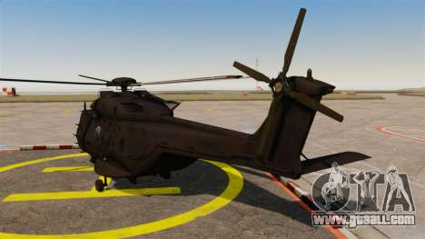 Eurocopter NHIndustries NH90 [EPM] for GTA 4 back left view