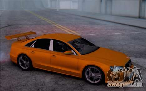 Audi A8 2010 for GTA San Andreas right view