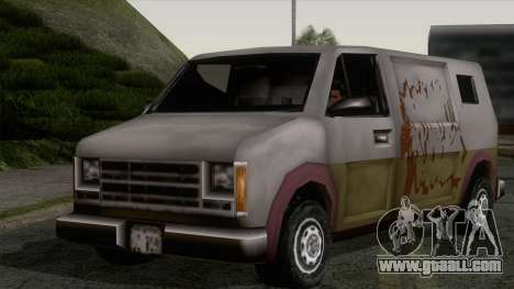Hoods Rumpo XL from GTA 3 for GTA San Andreas