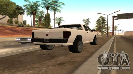 Bison from GTA 5 for GTA San Andreas left view