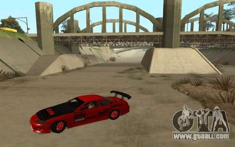 Toyota Soarer for GTA San Andreas left view