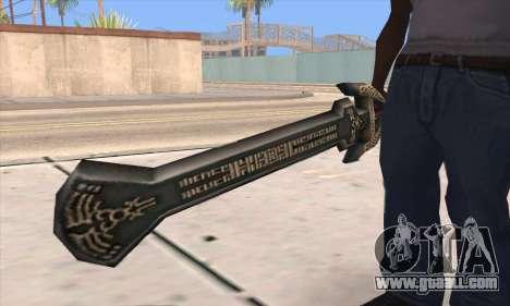 Sword of Darknut for GTA San Andreas third screenshot