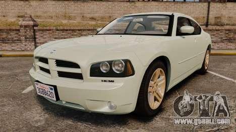 Dodge Charger RT Hemi 2007 for GTA 4