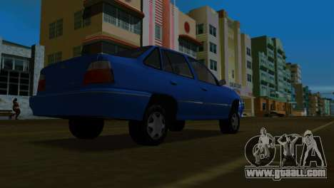 Daewoo Cielo for GTA Vice City back left view