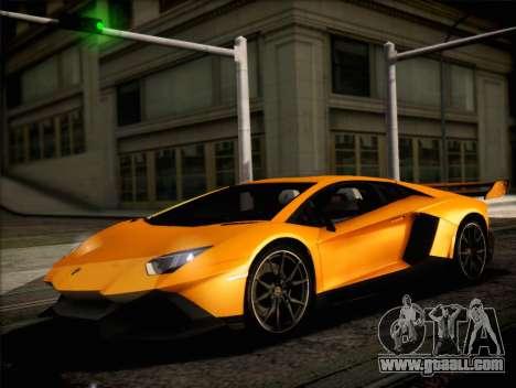Lamborghini Aventador LP720 for GTA San Andreas right view