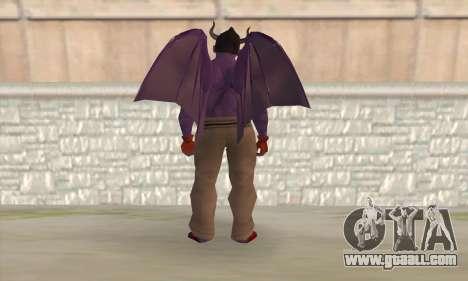 Devil Kazuya Mishima for GTA San Andreas second screenshot