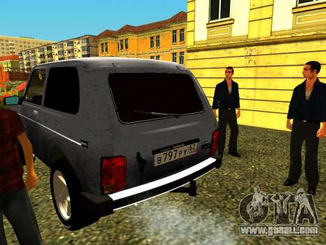 VAZ 21214 for GTA San Andreas back left view