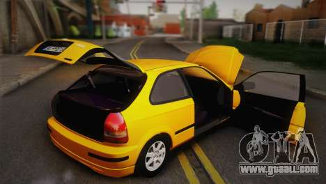 Honda Civic 1.4is TMC for GTA San Andreas side view