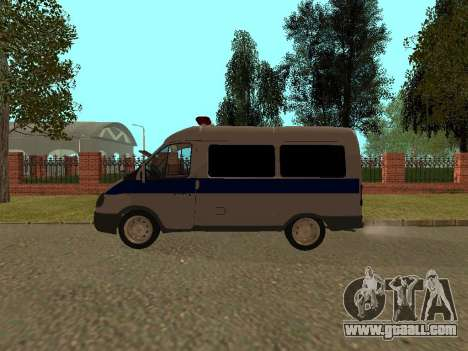 GAS Sable Police for GTA San Andreas