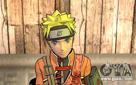 Naruto Rajdžinu for GTA San Andreas third screenshot