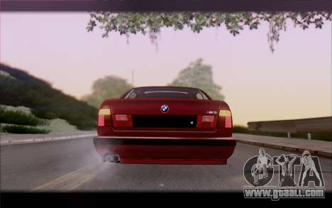 BMW E34 for GTA San Andreas side view