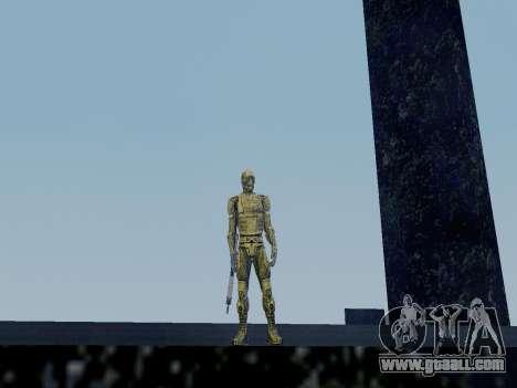 Korean Nano-suit of Crysis for GTA San Andreas second screenshot