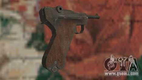 Luger for GTA San Andreas second screenshot