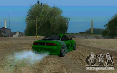 Nissan Silvia S14a for GTA San Andreas left view