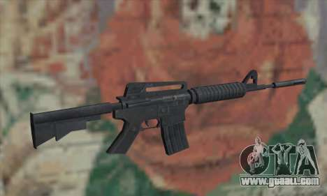 M4A1 from Saints Row 2 for GTA San Andreas second screenshot