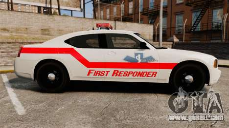 Dodge Charger First Responder [ELS] for GTA 4 left view