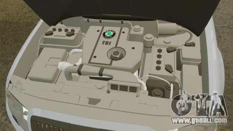 Skoda Superb 2006 Unmarked Police [ELS] for GTA 4 inner view