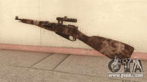 Mosin-Nagant for GTA San Andreas second screenshot