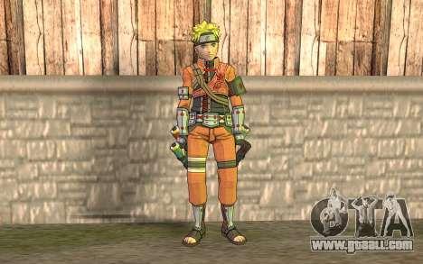 Naruto Rajdžinu for GTA San Andreas
