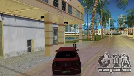 Volkswagen Passat 2007 for GTA Vice City back left view