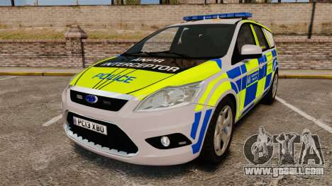 Ford Focus Estate Metropolitan Police [ELS] for GTA 4