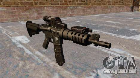 Automatic M4 tactical carbine for GTA 4