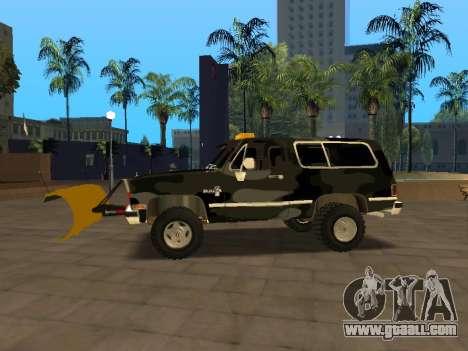 Chevrolet Blazer for GTA San Andreas left view