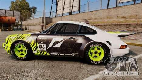 Porsche 911 Carrera RSR 1974 Rival for GTA 4 left view